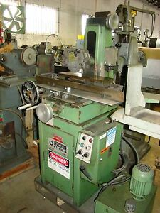 Ingar rt 618 1a 6 X 18 1 Axis Hydraulic Surface Grinder