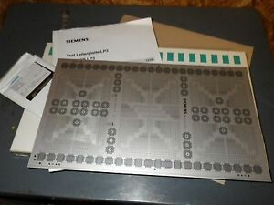 Siemens Test Board Lp3 Siplace Hs50