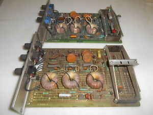 Reliance Electric 0 51851 3 Control Boards Lot Of 2 Used