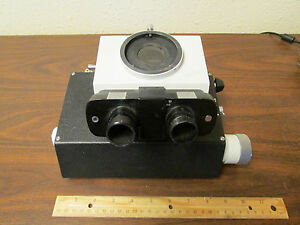 Vickers Stereo Microscope Head No 1012 Made In England