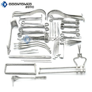 Odm 197 Piece Laparotomy Set Surgical Medical Instruments Ds 1020