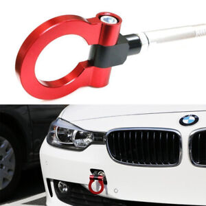 Red Track Racing Style Aluminum Tow Hook For Bmw F30 F35 F10 3 4 5 Series Mini