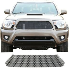Ccg Flat Black Precut Mesh Grill For A 2012 15 Toyota Tacoma Top Grille Only