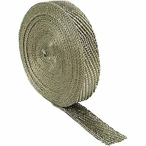 Dei 010126 Exhaust And Header Wrap Titanium Silver 1 Wide X 50 Ft Each