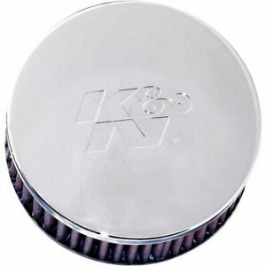 K n Air Filter Element Round Straight Cotton Gauze Red 2 438 Dia Inlet Rc 0850
