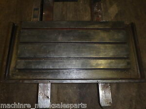 41 X 21 Steel Welding T slotted Table Cast Iron Layout Plate T slot Weld Jig