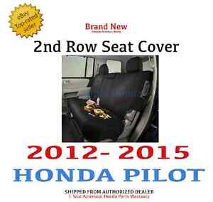 Genuine Oem Honda Pilot 2nd Row Seat Cover 2012 2015 08p32 sza 100a