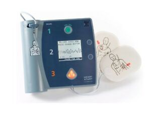 Philips Heartstart Fr2 With New Batteries And Pads
