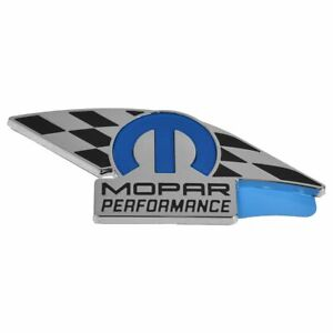Oem Mopar Performance Emblem Nameplate For Dodge Jeep Chrysler