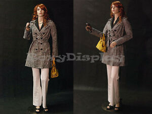 Female Flexible Arms Mannequin Dress Form Display md sara