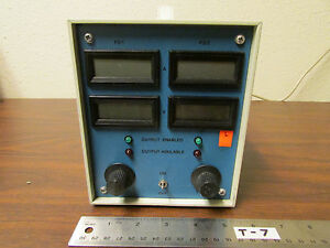 Power Supply With 4 Lcd Readouts