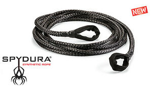 Warn 3 8 X 50 Spydura Synthetic Extension Rope 10000 Lb Capacity Winch