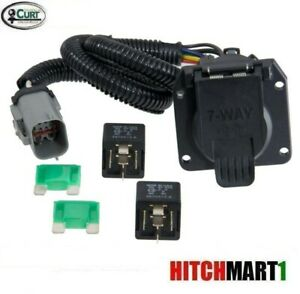 Trailer Hitch Wiring 7 Way Plug For 1999 2001 Ford F250sd F350 W Factory 4way