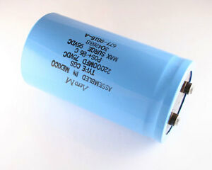 1x 22000uf 75v Large Can Electrolytic Capacitor 22000mfd 75 Volts Dc 22 000 Uf
