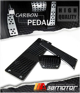 Carbon Fiber At Auto Pedals Footrest For Bmw E39 5 series M5 24cm Gas Pedal