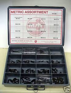 Metric Cup Point Set Screw Assortment W Hex Keys M3 m8mm Din 916