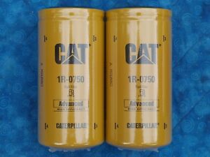 Cat 1r 0750 Fuel Filter Sealed Duramax Genuine Caterpillar 1r0750 1r 0750 2 Pack