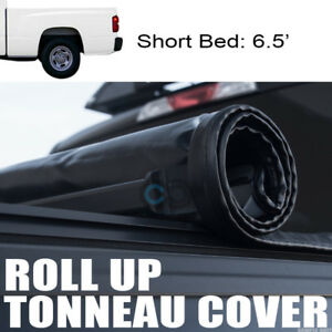 Roll up Soft Tonneau Cover 97 03 04 Dodge Dakota Regular club Cab 6 5 Ft 78 Bed
