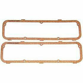 Mr Gasket 275 Valve Cover Gaskets Cork Rubber Pair New