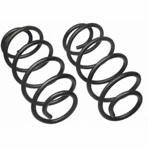 Moog Coil Springs Set Of 2 Rear New For Jeep Grand Cherokee 80871