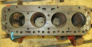 Ford Newholland Fo 134 Engine Block Used B9nn6015a Needs To Be Bored All Cyl