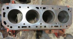 Ford Newholland Fo 172d Engine Block Used C0nn6015j Has A Chip Out Of The Rear