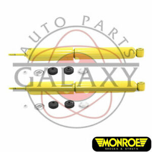 Monroe New Replacement Rear Shocks Pair For Ford E 100 Econoline 75 83