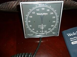 Welch Allyn Tycos Wall Mount Blood Pressure Cuff Adult Size 11 7670 01