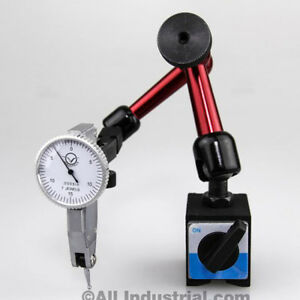 030 Dial Test Indicator 3d Mini Magnetic Base Holder Inspection Set Combo