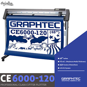 Graphtec Ce6000 120 Plus Vinyl Cutter Plotter free Stand Free Shipping