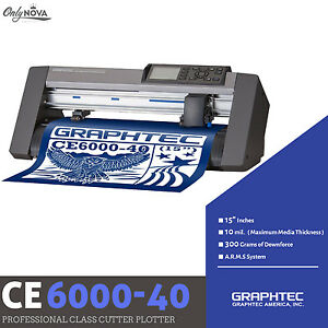 Graphtec Ce6000 40 Plus Vinyl Cutter Plotter Free Roll medium Tray Free Shipping