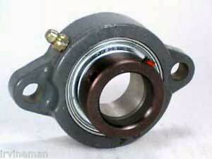 Fhfd206 19g Bearing Flange Light Duty 2 Bolt 1 3 16 Inch Bearings Rolling