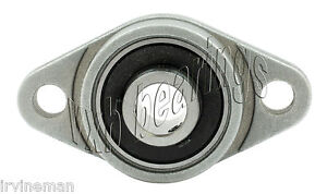 Rcsmrfz 16l Bearing Flange Insulated Pressed Steel 2 Bolt 1 Inch Rolling