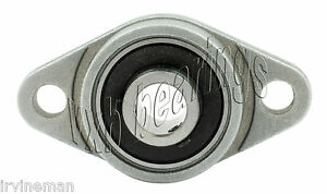 Rcsmrfz 17l Bearing Flange Insulated Pressed Steel 2 Bolt 1 1 16 Inch Rolling