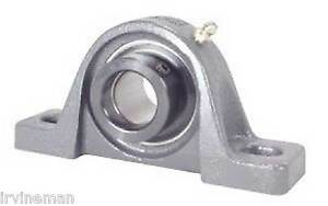 Fhpw207 23 Pillow Block Cast Iron Light Duty 1 7 16 Inch Bearings Rolling