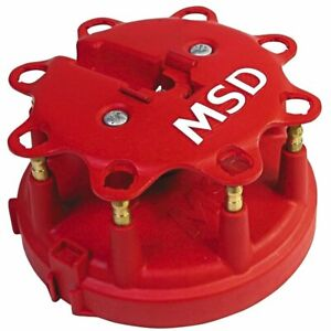 Msd Distributor Cap Male Clamp Down Pro Billet Ford Laforza Lincoln Mercury V8
