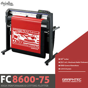 Graphtec Fc8600 75 30 Vinyl Cutter Plotter free Stand Free Shipping