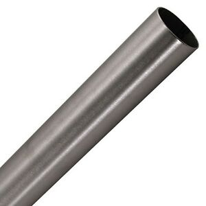 1 1 2 Brushed 304 Stainless Steel Tube 16 Ga Wall 1 5mm 19 6 Long