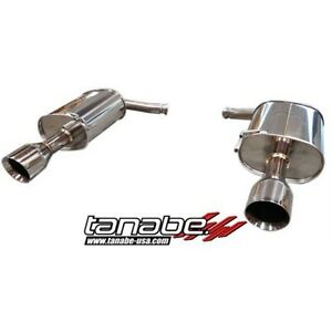 Tanabe Medalion Touring Axle back Exhaust 2011 13 G25 G35 G37 Sedan T70130a Rwd