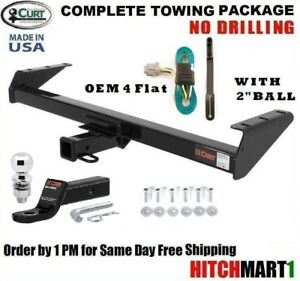 Fits 2005 2018 Nissan Frontier W Tow Pk Class 3 Trailer Hitch Package W 2 Ball