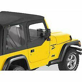 Bestop Set Of 2 Half Doors Front New Jeep Wrangler 1997 2006 Pair 51790 35