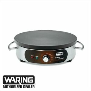 Waring Wsc160 Commercial Electric 16 Crepe Maker New 1 Year Warranty