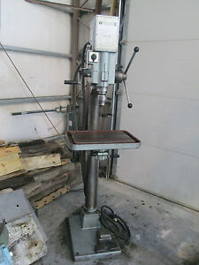 20 Wilton Model 20720 Drill Press With Forward Reverse Foot Control