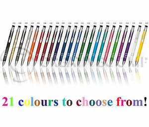 1 50 100 250 500 Personalised Engraved Metal Pens Wholesale Promotional Pen