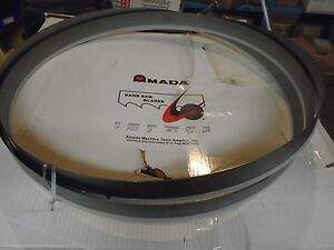 2 Count Amada Protector Band Saw Blade 22 2 X 2 X 063 Thick 3 4 Teeth