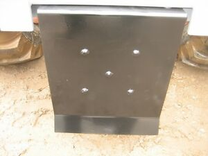 Omni Firewood logging Skidder Plate For 3 Point Hitches