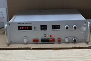 Unholtz dickie Ud Corp Osc 1s Sweep Sine Generator