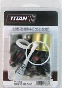 Titan Speeflo 0555960 Or 555960 Fluid Section Repair Kit Oem