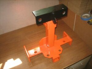 3 Point Lift Station Welded On Grabhook clevis Mount For Firewood logging towing