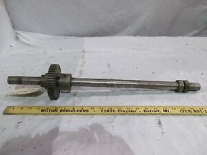 Storm Vulcan 15a Back Table Drive Shaft And Gear 15a 20 2